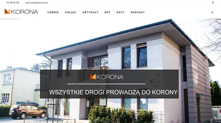 Dentysta Poznań, Ortodonta, Protetyka - Gabinet Korona