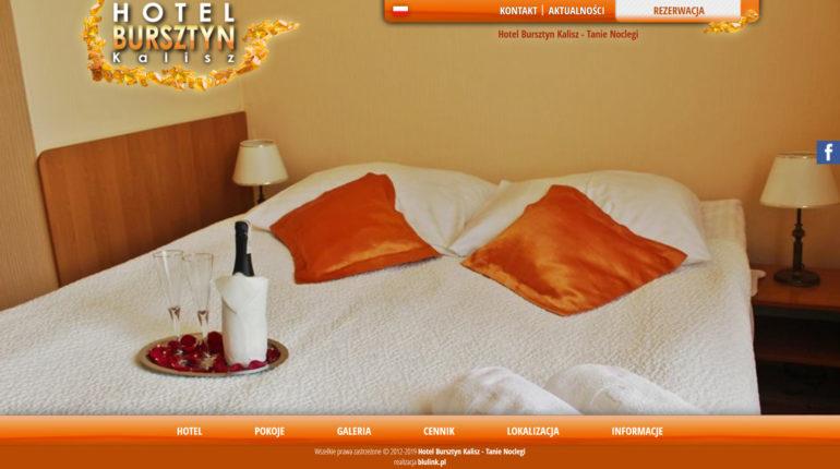 Hotel Bursztyn - tanie noclegi w Kaliszu, hotel Kalisz