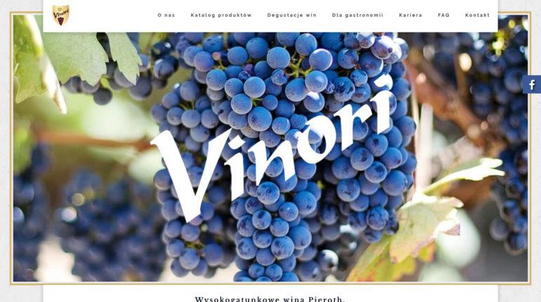 Sklep z winem Vinori - dobre wino, wysokogatunkowe wina Pieroth