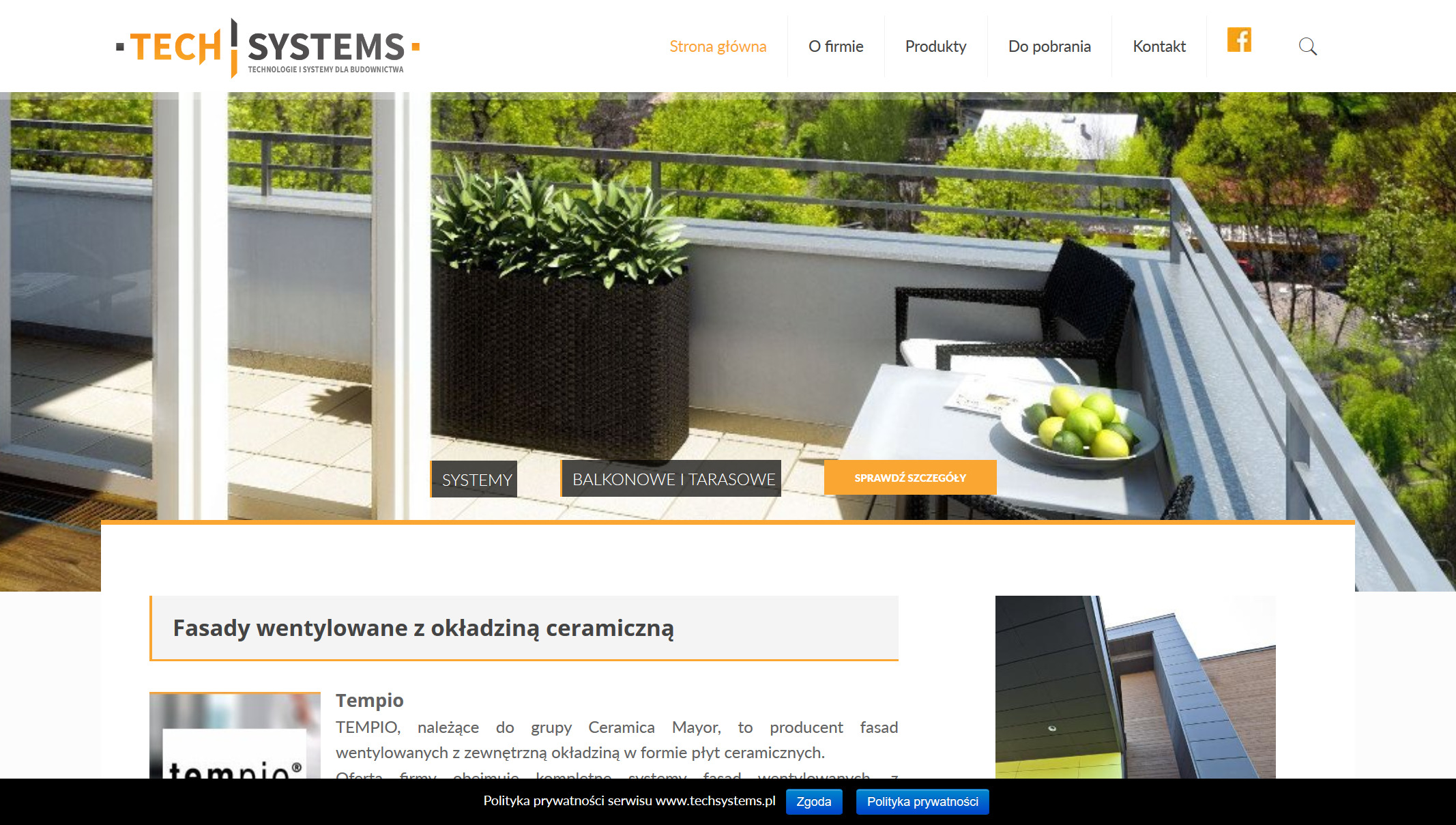 TechSystems Produkty Schluter i Tempio profile do płytek i listwy wykończeniowe