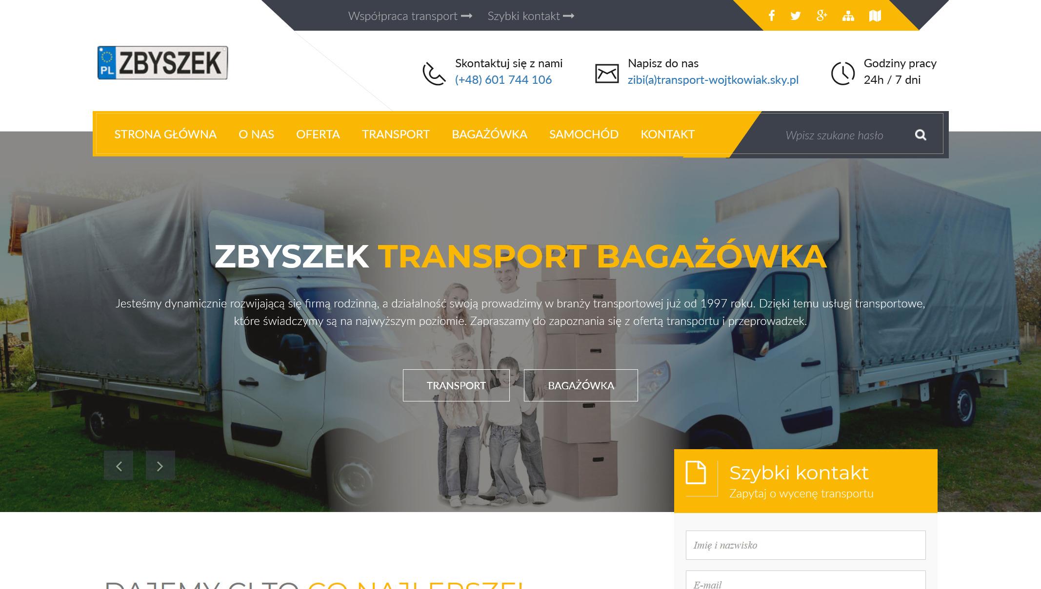 Transport Wojtkowiak